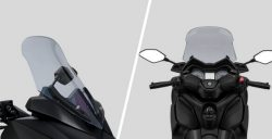 Adjustable Windshield & Handlebars Position XMax