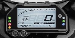 Full LCD Speedometer R25