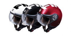 Helm Retro Stylish Fino