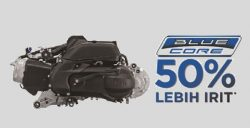 Mesin Blue Core 125cc Bertenaga X-Ride