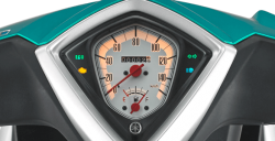 Speedometer with ECO Indicator Mio S