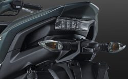 Sporty-Integrated Rear Handle Grip Aerox 155