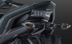 Sporty-Integrated Rear Handle Grip Aerox 155