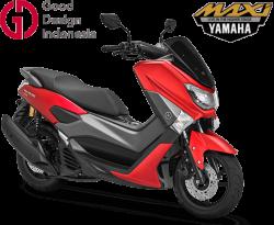 Yamaha NMax Matte Red