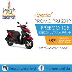 Promo PRJ Yamaha Freego 125 Motorsaya