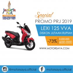 Promo PRJ Yamaha Lexi 125 VVA Motorsaya