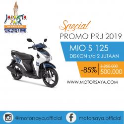 Promo PRJ Yamaha Mio S 125 Motorsaya