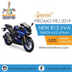 Promo PRJ Yamaha R15 Motorsaya