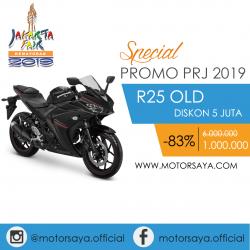 Promo PRJ Yamaha R25 OLd Motorsaya