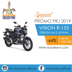 Promo PRJ Yamaha Vixion R-155 Motorsaya