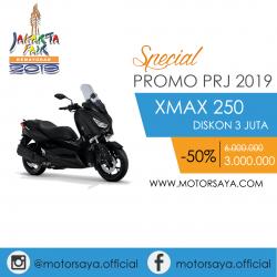 Promo PRJ Yamaha XMax Motorsaya