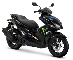 Promo Kredit Motor Yamaha Aerox 155 GP Edition Monster Energy